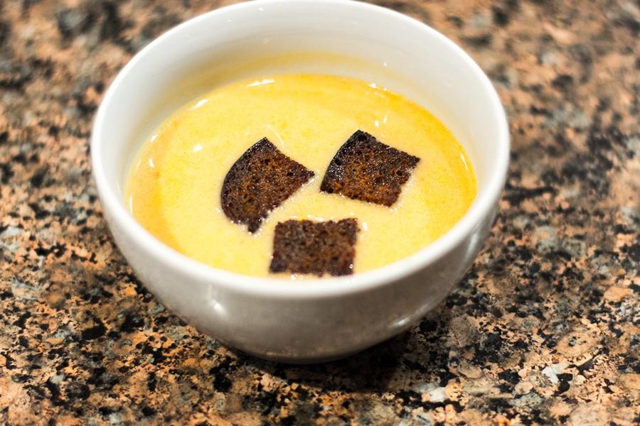 Сырный суп с пивом (Тото и Мурмудон)