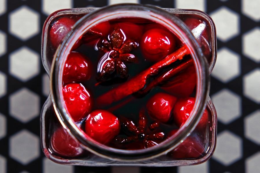 Коктейльная вишня (Мараскино)