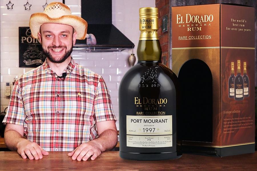 Коктейль Идиот с ромом El Dorado Port Mourant 1999