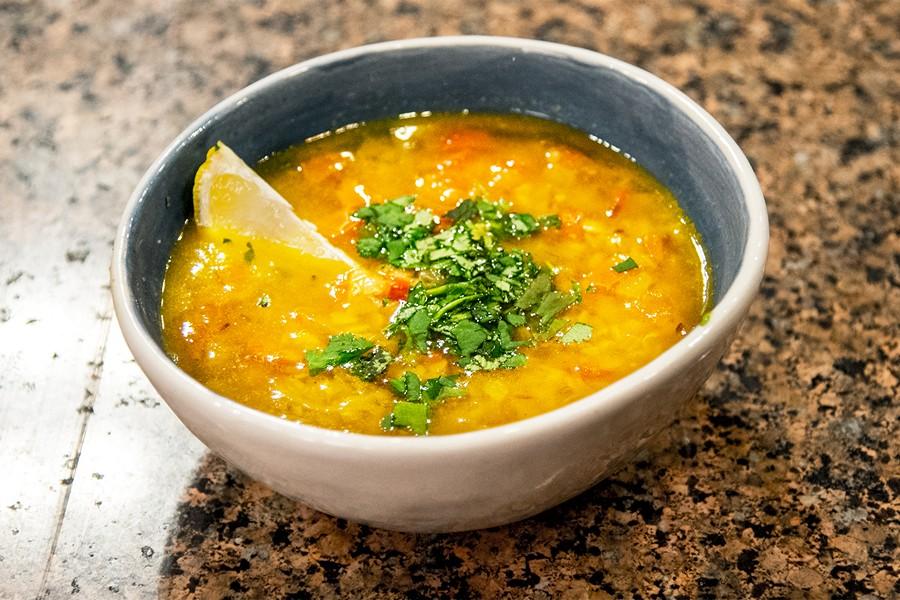 Чечевичный суп (Дал Фрай)