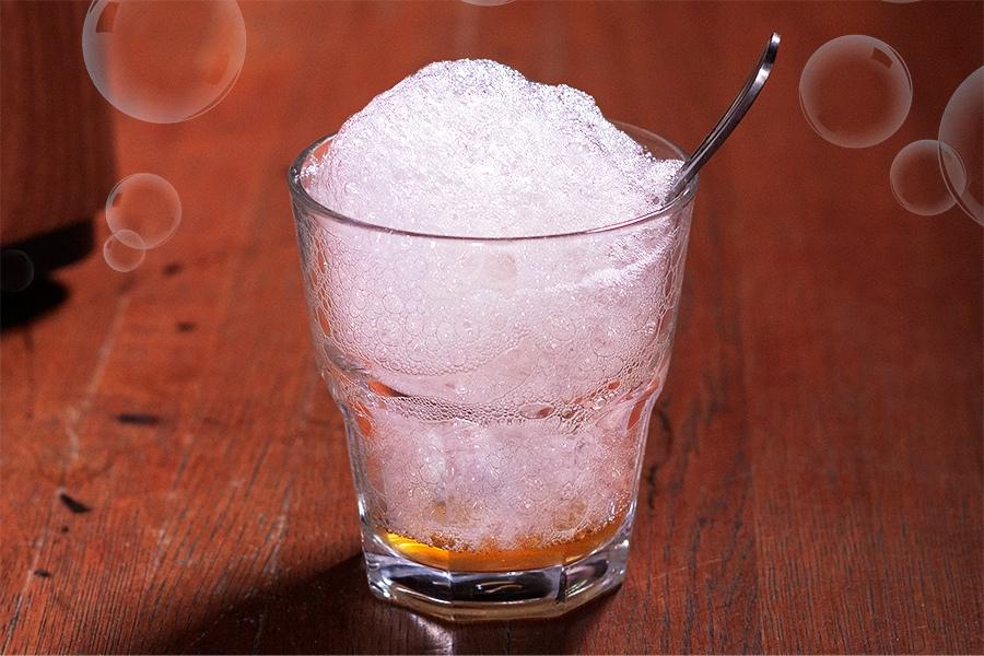 Кислородный коктейль с ромом