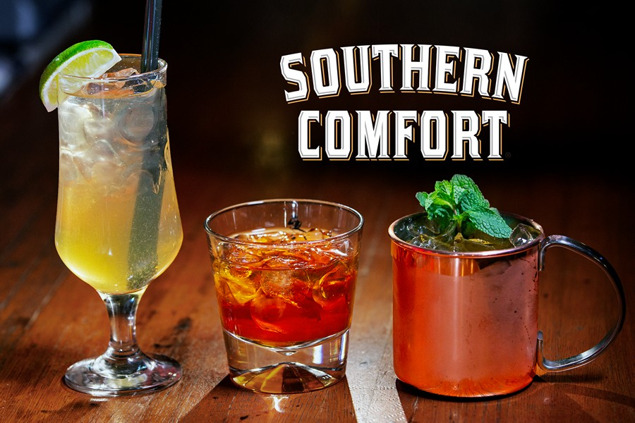 Коктейли с ликёром Southern Comfort