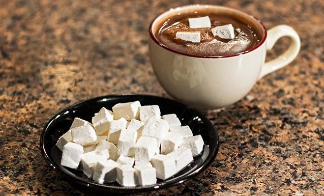 Зефирки (маршмеллоу) с какао